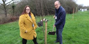 In the news: Council plants community orchard on Wickford allotment plot