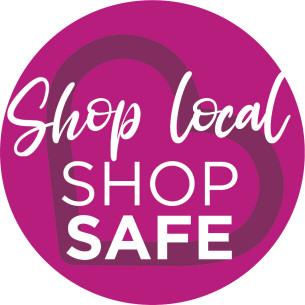 COVID-19 - Shop Local Stay Safe brand logo