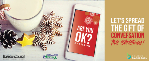 Image promoting COVID-19 Christmas 2020 campaign - Are you OK?