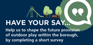 Image promoting public consultation - Outdoor Play Facilities consultation December 2020 to January 2021