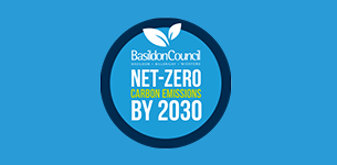 Decorative image showing Net zero greenhouse gas emissions target