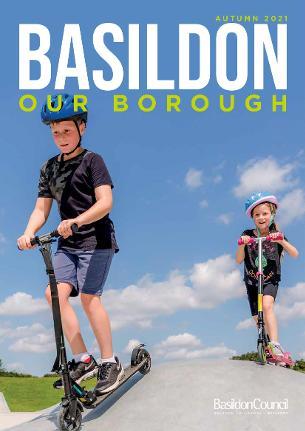 Photo of Basildon Our Borough magazine - front cover - Autumn 2021