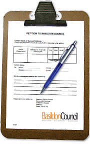 Basildon Council - Petitions Logo