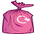 Pink Sack  icon