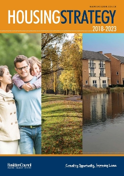 Image of cover page of Basildon Council Housing Strategy 2018-2023 document