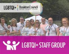 Image - a photo of Basildon Council's LGBTQi+ Staff Group