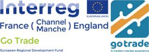 Image showing the Interreg, EU and Go Trade Logos