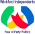 Small colour image of the Wickford Independents Party Logo 2018