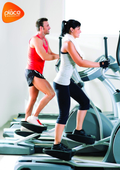 Image promoting gym induction classes at The Place's Pulse Fitness Suite
