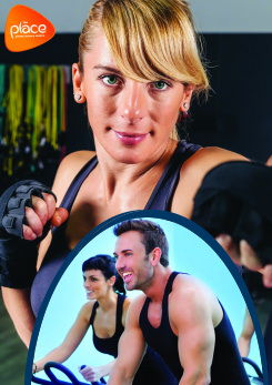 Image promoting fitness and exercise classes at The Place Multi-purpose Leisure Centre in Pitsea, Basildon