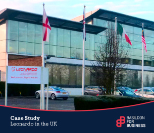 Basildon for business case study - Leonardo in the UK