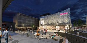 In the news:- Contract awarded for enabling works for East Square cinema development