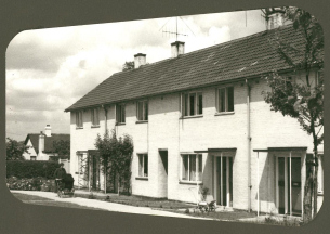 Heritage Photo of Basildon - 1951 - First new town homes in Redgrave Road