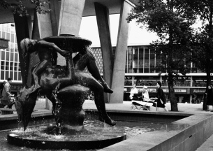 Heritage Photo of Basildon - 1962 - Mother and Child sculpture unveiled - 305x216