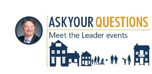 In the News:- Meet the Leader at our Q&A Pitsea event this week