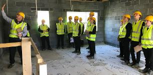 In the News: Construction students get a taste of the industry at Sempra Homes site