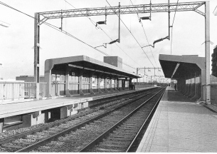 Heritage Photo of Basildon - 1974 - Basildon railway station opened - 305x216
