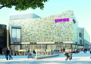 Heritage Photo of Basildon - 2019 - Planned new cinema complex - East Square Basildon