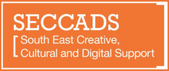 Image showing the South East Creative, Cultural and Digital Support programme brand