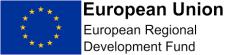 Image showing the European Regional Development Fund Brand Logo
