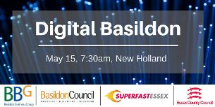 Image promoting Digital Basildon Breakfast Event 2019