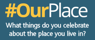 Image promoting the Our Place survey