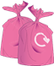 Order Pink sacks icon