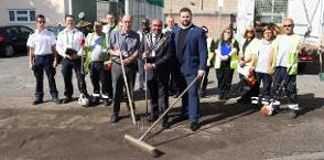 In the news: We're cleaning up our estates with action and improvement days  image