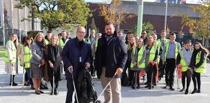 In the news: We're Cleaning Up campaign concludes with town centre litter pick