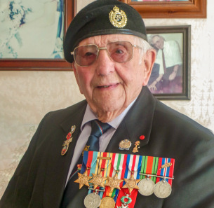 Decorative photo image showing Basildon Hero - Don Sheppard
