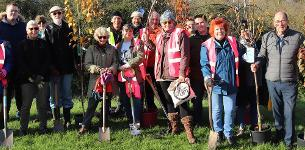 In the news: Council helps local litter pickers plant trees for community