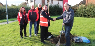 In the news: Council help plant trees donated by Virgin Media in Wickford