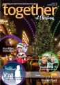 Decorative image showing together magazine - front cover - Winter 2019