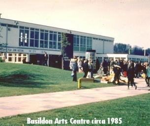 Decorative image - Basildon at 70 Monday Memory photo - Photo of the old, now demolished, Basildon Arts Centre circa 1985