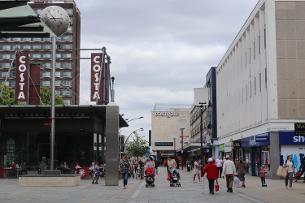 Decorative image of Basildon town centre