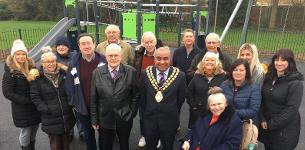 In the news: New play area unveiled at Kent View Road