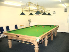 The Pool room at The George Hurd Centre