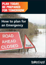 front cover image - How to plan for an emergency booklet