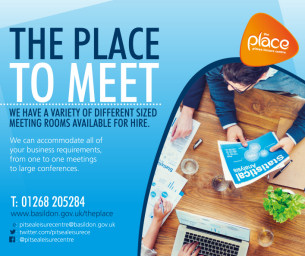 The Place To Meet - Meeting room hire at The Place, Pitsea