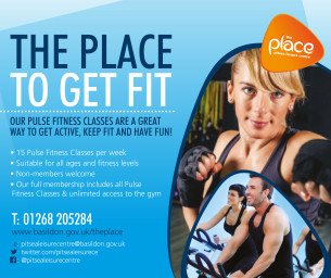 The Place To Get Fit - Pulse Fitness Classes at The Place, Pitsea