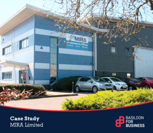 Basildon for business case study - MIRA Limited