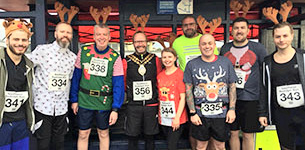 In the news:- Festive run raises funds for Mayor's Charity Appeal Trust