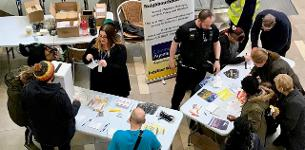 In the News:- Safer Basildon crime prevention roadshow success