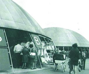 Basildon at 70 photo of Pitsea Market circa 1960 from Monday Memory contributor - Kathy Footer