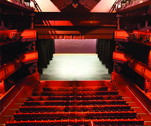 Basildon at 70 photo of Towngate Theatre auditorium from Monday Memory contributor - Simon Bristoe