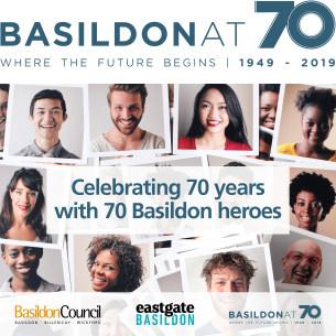 Basildon at 70 - Celebrating 70 years with 70 Basildon heroes